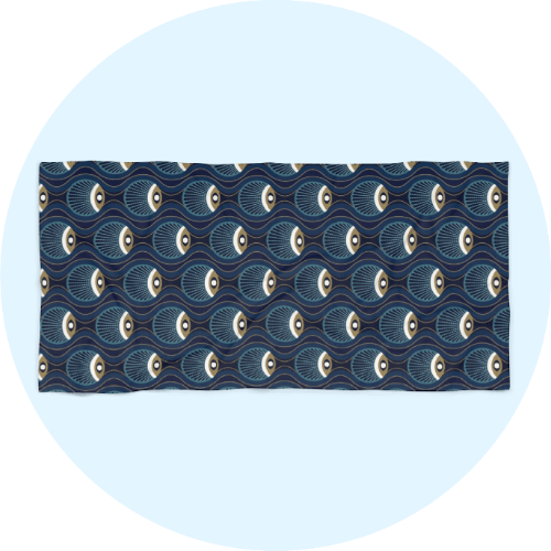 Custom beach towels - Arty Design