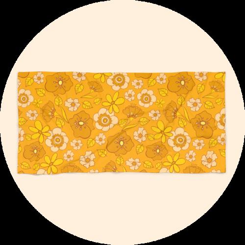 Custom beach towels - Retro Design