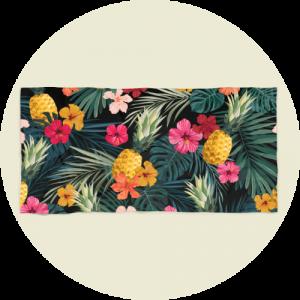 Custom beach towels - Tropical Design