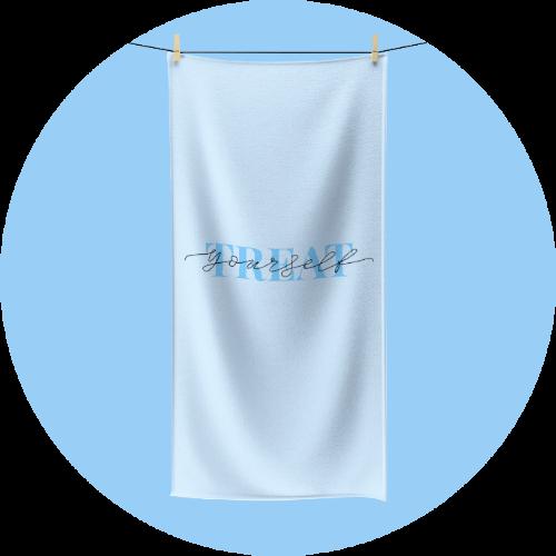 Custom polycotton towels - Spa Design