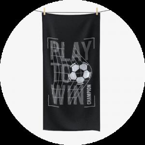 Custom polycotton towels - Sports Design