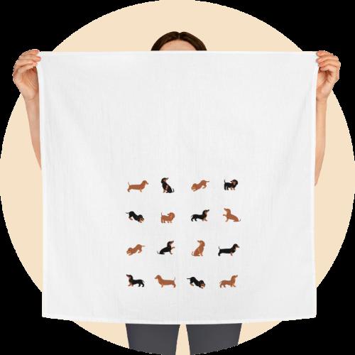 Custom tea towels - Pet theme Design