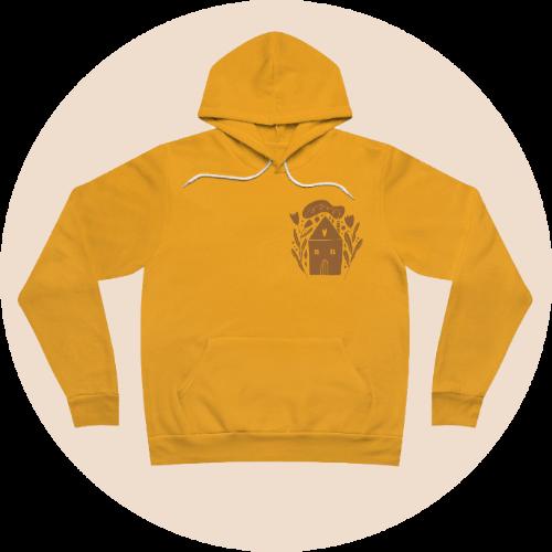 Design loungewear - Unisex fleece pullover hoodie
