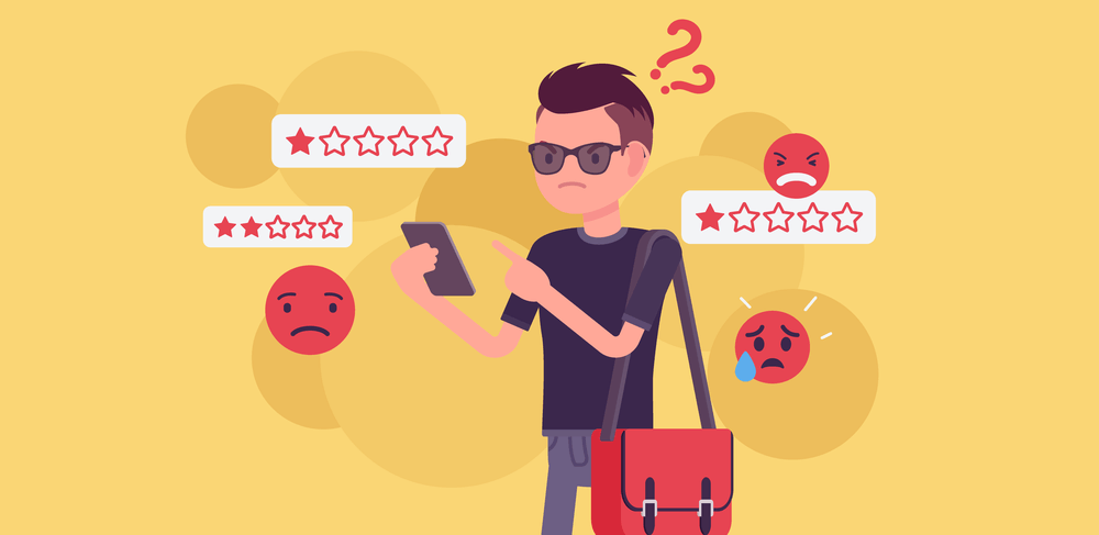 How to respond to negative reviews: A step-by-step guide to dealing with negative customer feedback