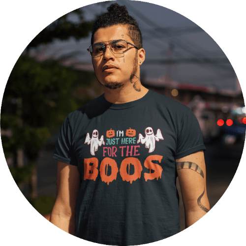 Men's Halloween shirts