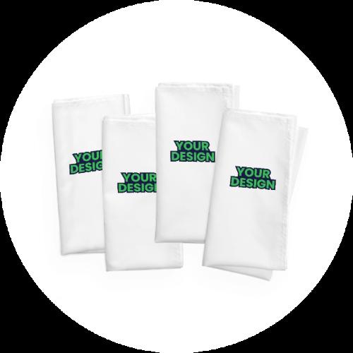 Your design napkins