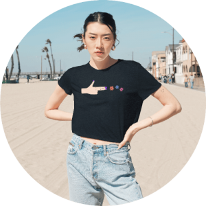 Top New Products for Your Store - Women's Flowy Cropped Tee