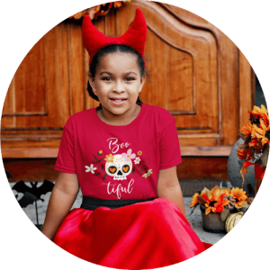 Trick or treat Halloween shirts for kids