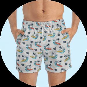 Custom Design Swim Trunks - Endless Summer