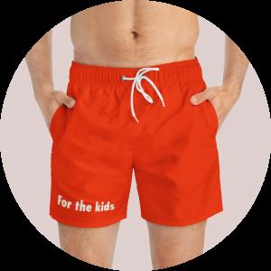Custom Design Swim Trunks - Popular Messages