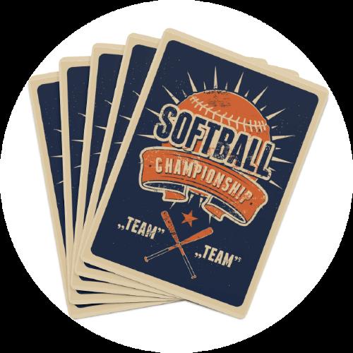 Custom Vintage Playing Cards