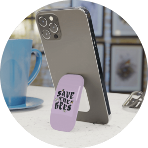 Other custom accessories for iPhone - Click-on grip