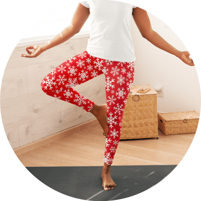 Custom Yoga Pants Seasonal Theme Yoga Pants