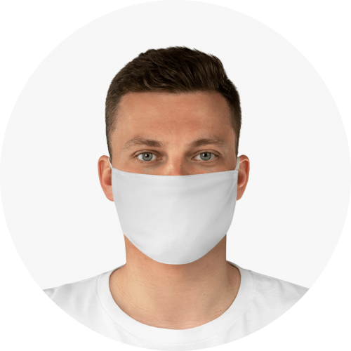 Free Face Mask Maker Blank Face Mask